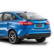 Friso Cromado Resinado Traseiro Porta Malas Focus Sedan 2015
