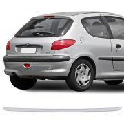Friso Traseiro Porta Malas Cromado Resinado Peugeot 206 207