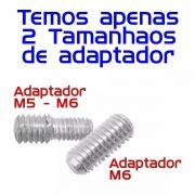 Haste Antena Universal M5 e M6 + Borracha Vedação Vw Gm