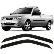 Jogo Calha Chuva Defletor Fiesta Hatch 96 97 98 Courier - 2p