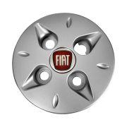 Jogo Calota Central Fiat Uno Palio Siena Aro 13 14 Prata
