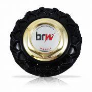 Jogo Calota Centro Miolo Roda BBS Brw900 Preto Dourado logo