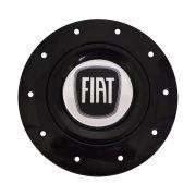 Jogo Calota Centro Roda Fiat Preto Aro 14 Amarok + Chave