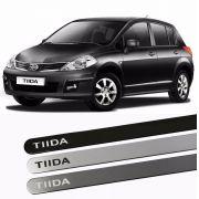 Jogo de Friso Lateral Pintado Nissan TIIDA - Produto Novo