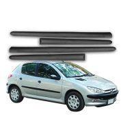 Jogo Friso Lateral Peugeot 206 207 Todos 4 Portas - Diadema