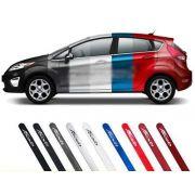 Jogo Friso Lateral Pintado New Fiesta Hatch Sedan - Diadema