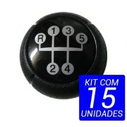 Kit 15 Bola Manopla Cambio Corsa Meriva Montana Celta Prisma