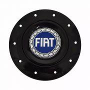 Jogo Calota Centro Roda Ferro Amarok Aro 13 E 15 4 Furos Preto Emb Ft Azul