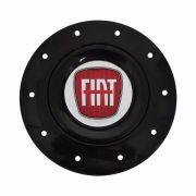 Kit Calota Centro Roda Ferro Fiat Aro 13 15 Amarok + Chave