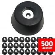 Kit Pé Grande Vazado Para Caixa Acústica Som - 500 Unidades