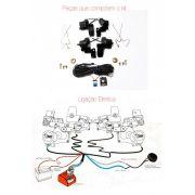 Kit Trava Elétrica Tragial Vw Gol G5 G6 4 Portas - Diadema