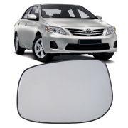 Lente Vidro Espelho Retrovisor Base Corolla 2008 a 2014