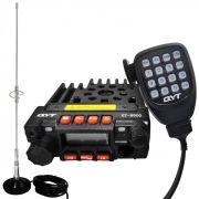 Mini Rádio Transceptor Dual Band VHF UHF Kt8900 + Antena