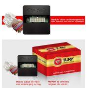 Módulo Vidro Antiesmagamento Plug&Play Uno 2011 2012 Fiorino