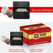 Módulo Vidro Antiesmagamento Plug&play Onix 2016 Prisma Joy - Cobalt Lt 2012 13 14