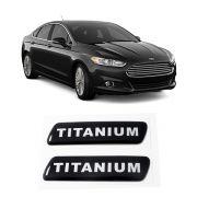Par Adesivo Resinado Coluna Porta Ford Fusion Titanium