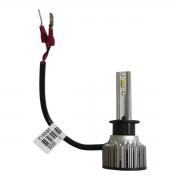 PAR LAMPADA H1 LED MEGALED 6500k 12V 60w com PAR Pingo W5W