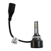 PAR LAMPADA H27 LED MEGALED 6500k 12V 60w com PAR Pingo W5W