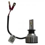 PAR LAMPADA H3 LED MEGALED 6500k 12V 60w com PAR Pingo W5W