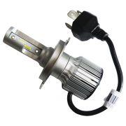 PAR LAMPADA H4 LED MEGALED 6500k 12V 60w com PAR Pingo W5W
