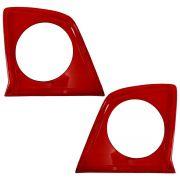 Par Lente Interna Vermelha Lanterna Space Fox 2006 a 2010