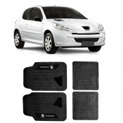 Tapete Luxo Pvc Dubai Universal Preto Peugeot - Diadema SP