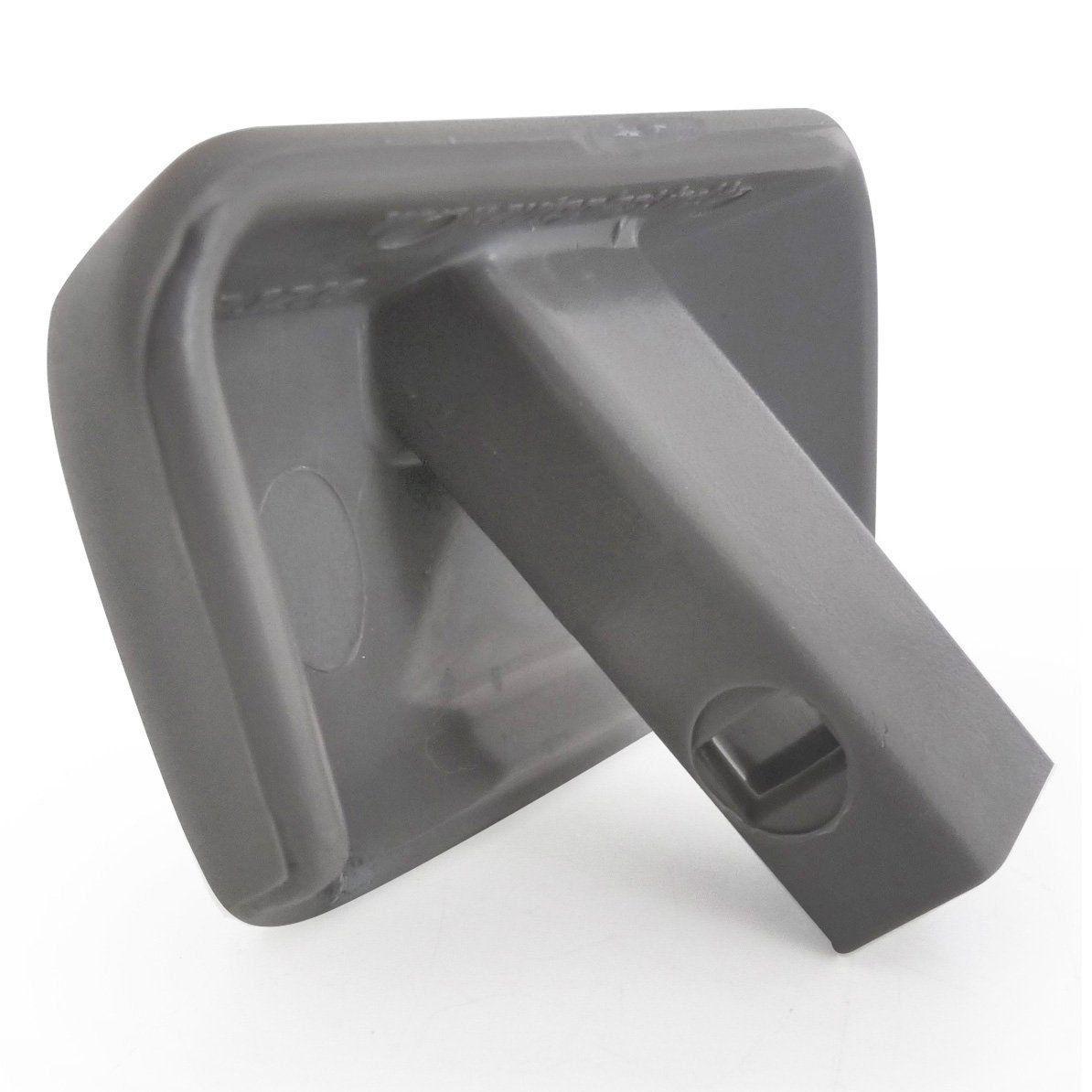 Botão Maçaneta Freio De Mão Silverado Grand Blazer - Cinza