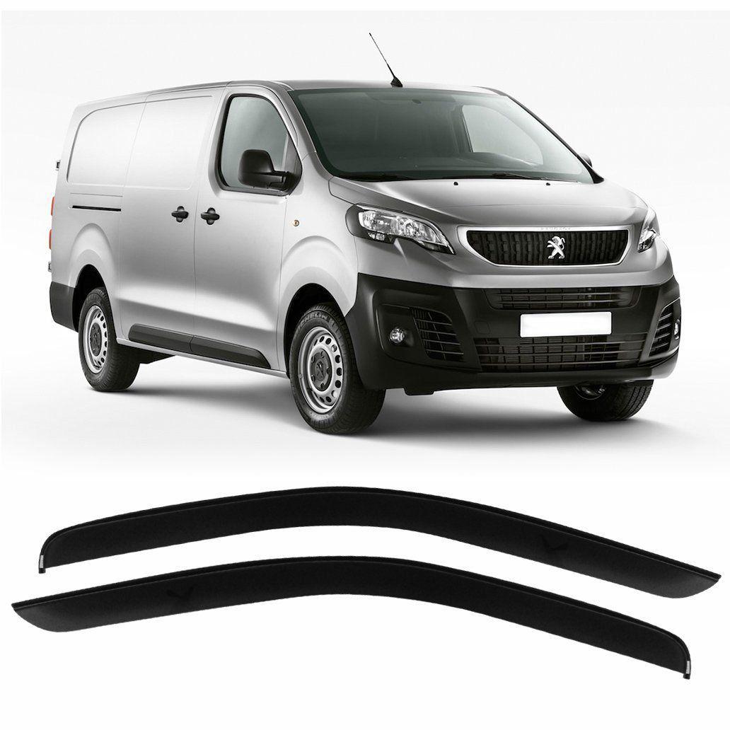 Calha De Chuva Acrilica Peugeot Expert 2018 2019 - 2pts
