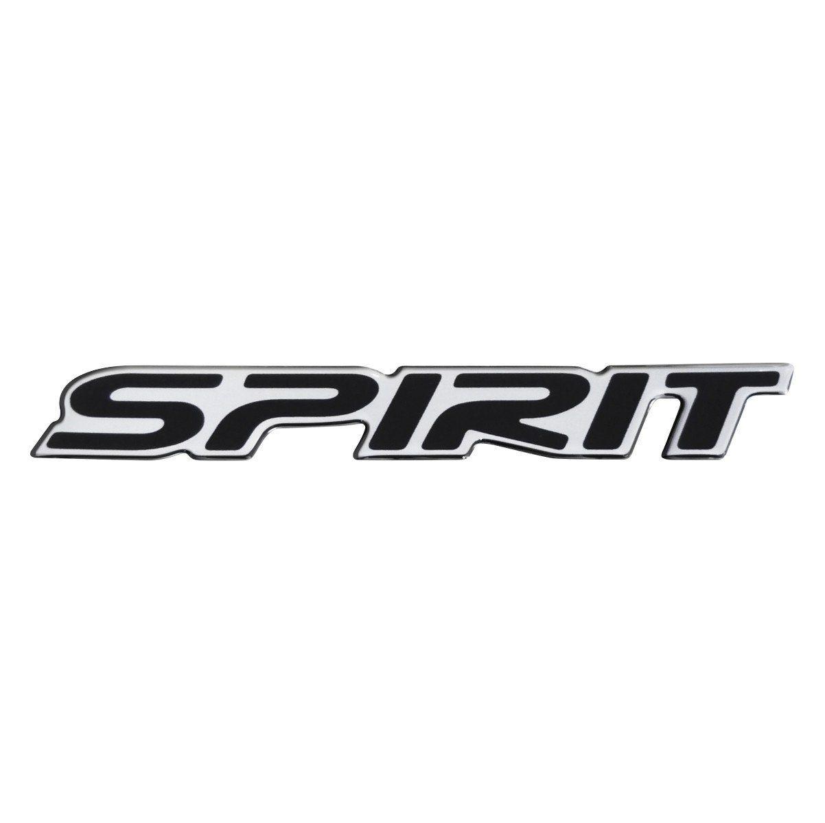 Adesivo Emblema Resinado Spirit Celta Corsa Meriva - Preto