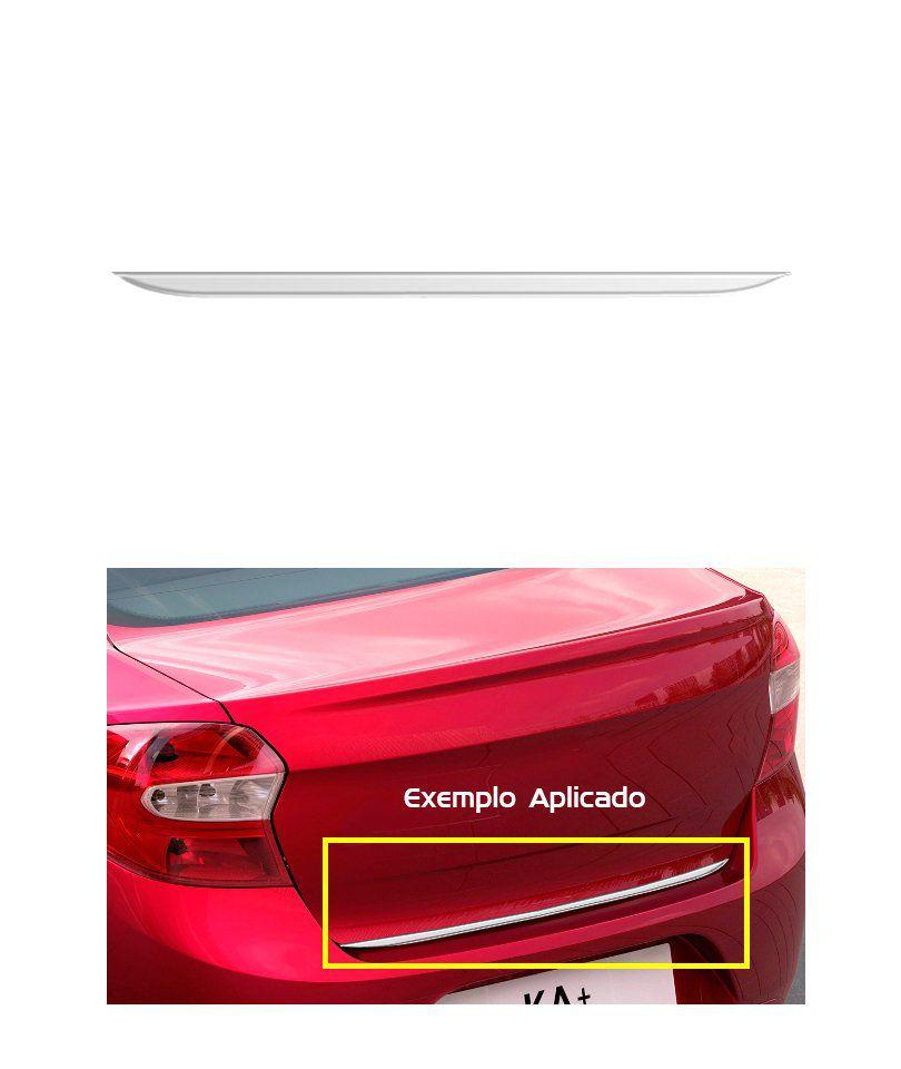 Friso Cromado Resinado Traseiro Porta Malas Ka+ Sedan
