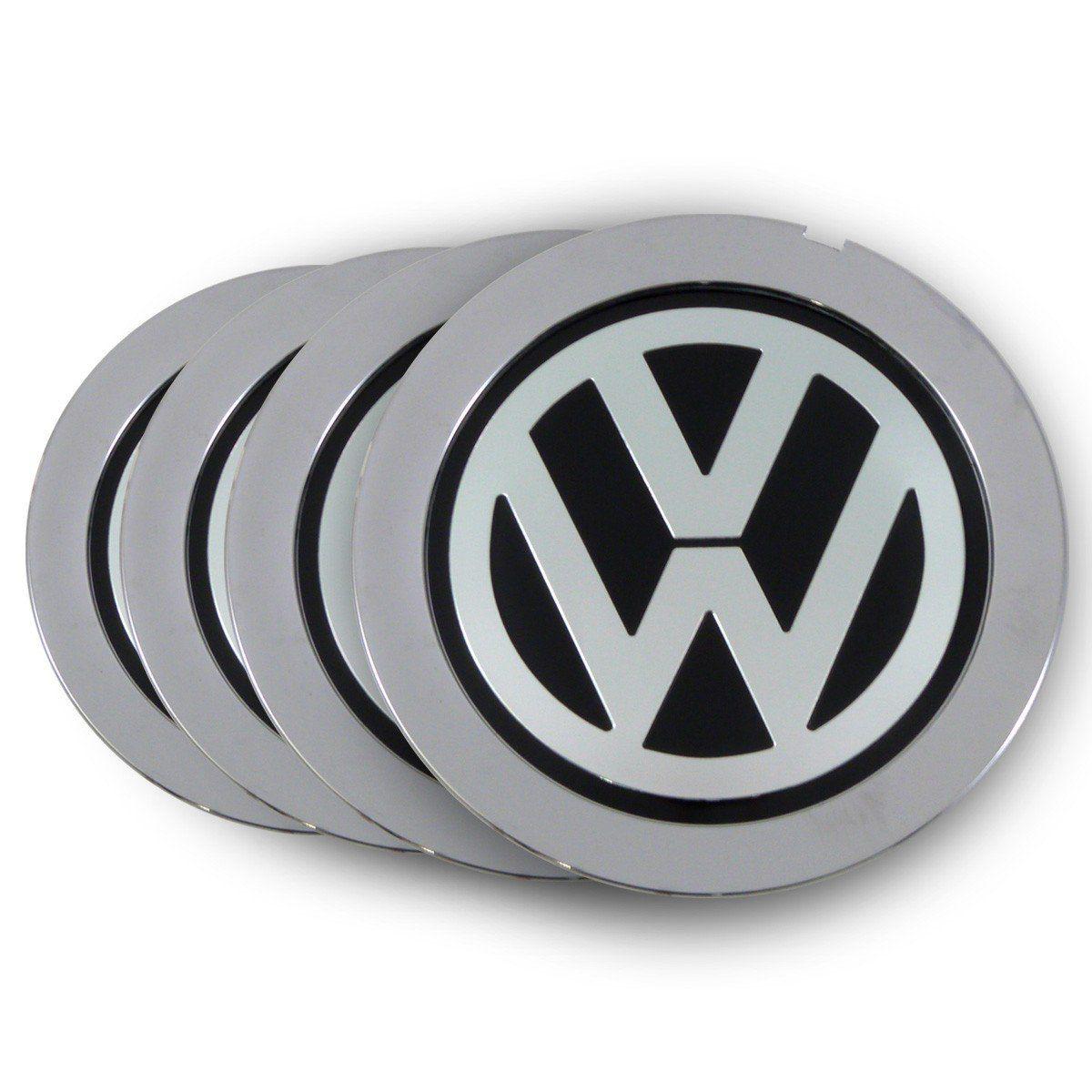 Jogo Calota Centro De Roda Cromado Audi A8 - Kromma Vw