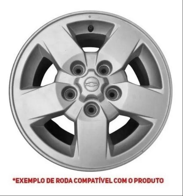 Jogo Calota S10 Blazer Centro Roda 97 98 99 00 01 02 S-10