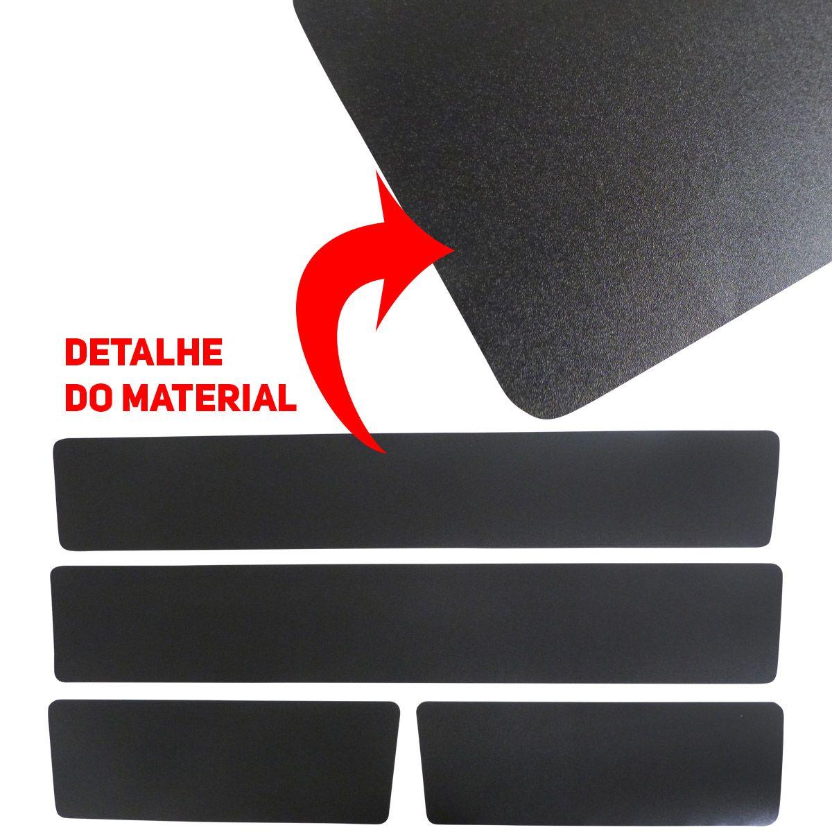 Kit 8 Peças Mini Soleira Porta Uno Vivace Way Drive - Preto