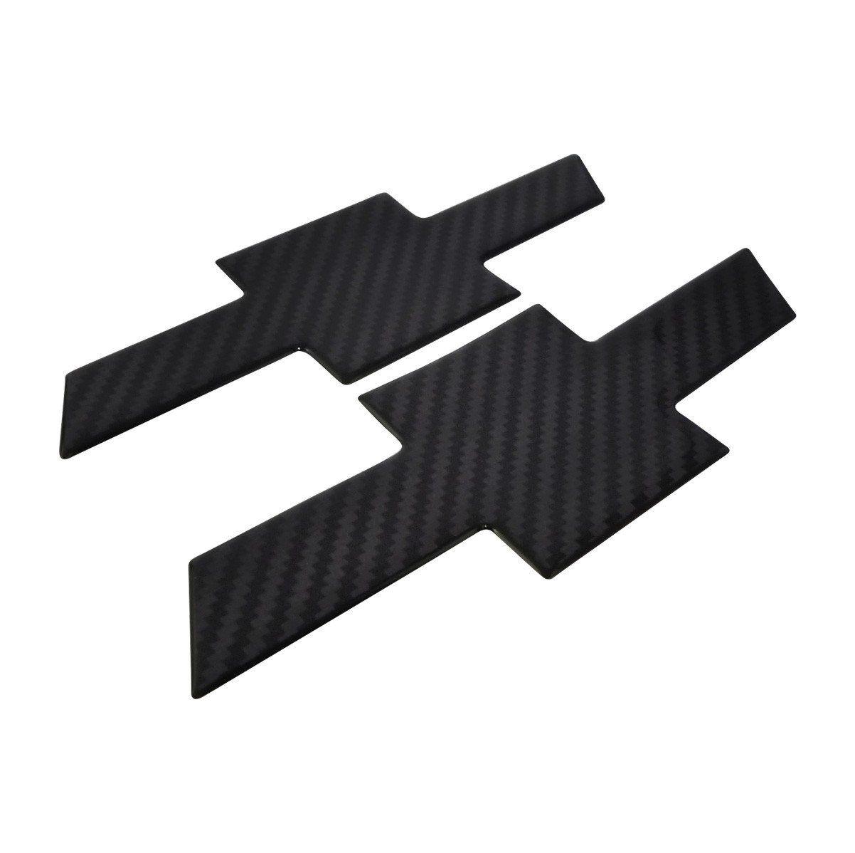 Kit Adesivo Emblema Resinado Carbono Gm S10 2018