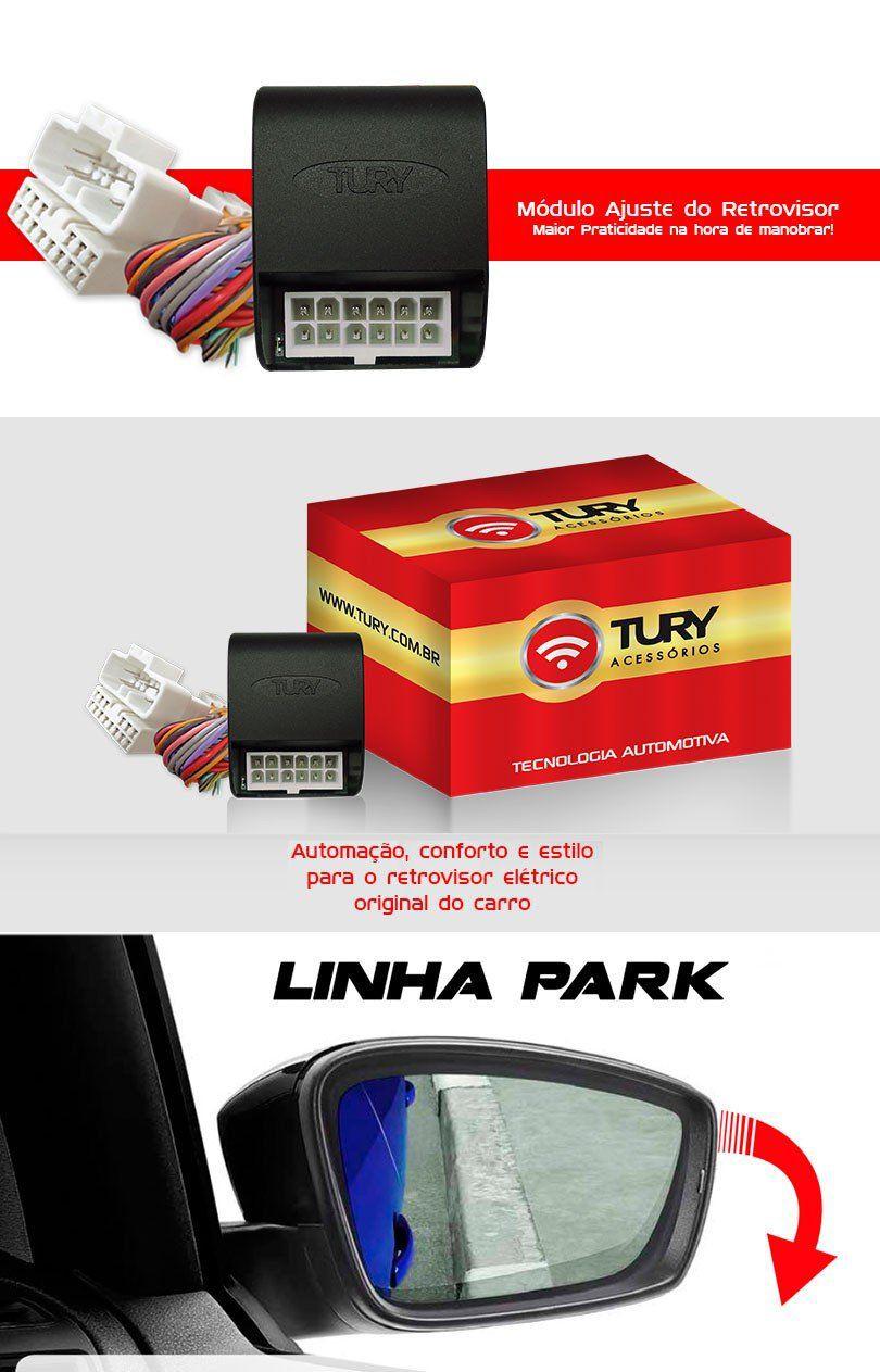 Módulo Retrovisor Plug&play Tilt Down Citroen C4 Pallas 307
