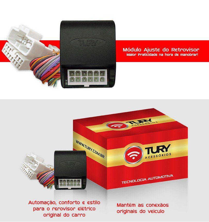 Módulo Retrovisor Plug&play Tilt Down Sonic 12 13 14 15 16