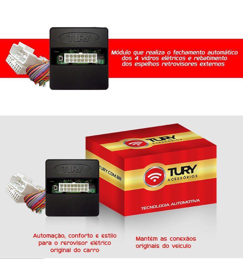 Módulo Vidro Retrovisor Plug&play Tiltdow Rebatimento Amarok