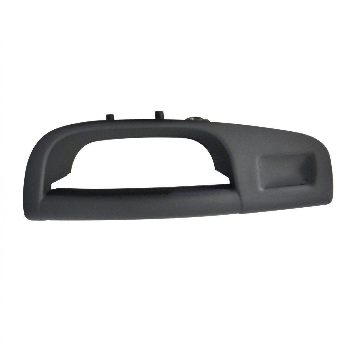 Puxador Interno Porta Traseira Gol G5 G6 - Cinza Esquerdo