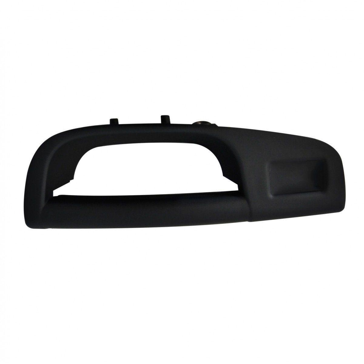 Puxador Interno Porta Traseira Gol G5 G6 - Preto Esquerdo