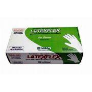 LUVAS DE LATEX PARA PROCEDIMENTOS VETERINÁRIOS - CX C/ 100