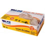 LUVAS DE LATEX PARA PROCEDIMENTOS, COM TALCO - CX COM 100