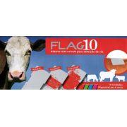 DETECTOR DE CIO FLAG10 - BOVIFLAG VERDE - EMBALAGEM COM 10 ADESIVOS