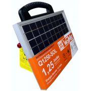 Eletrificador / Energizador de Cerca Elétrica Rural 1,25 J Solar - Q1250 - SOL