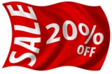 MARCHADORES 20% OFF