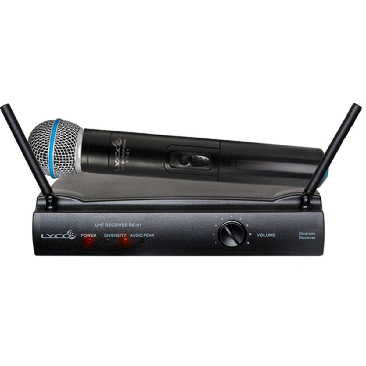 Microfone s/ Fio de Mão UHF - UH 01 M Lyco
