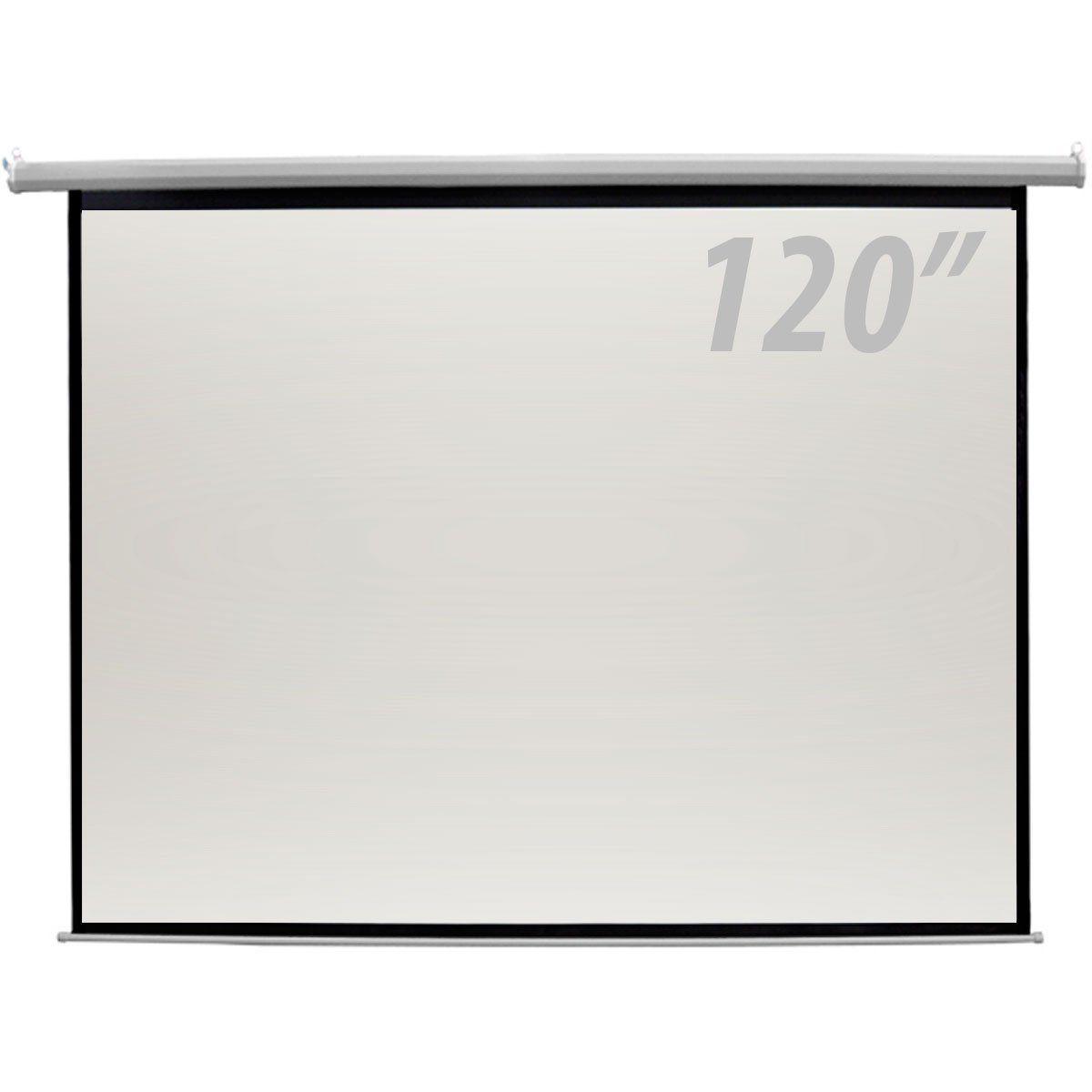 Tela de Projeção 120 Polegadas Elétrica c/ Controle Remoto - CSR