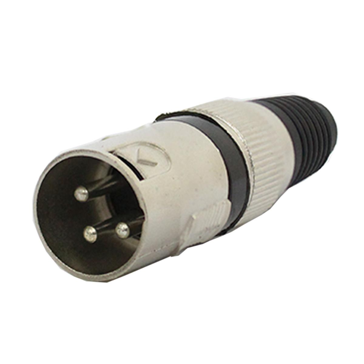 Conector Cannon XLR Macho Linha - Q34 BK CSR