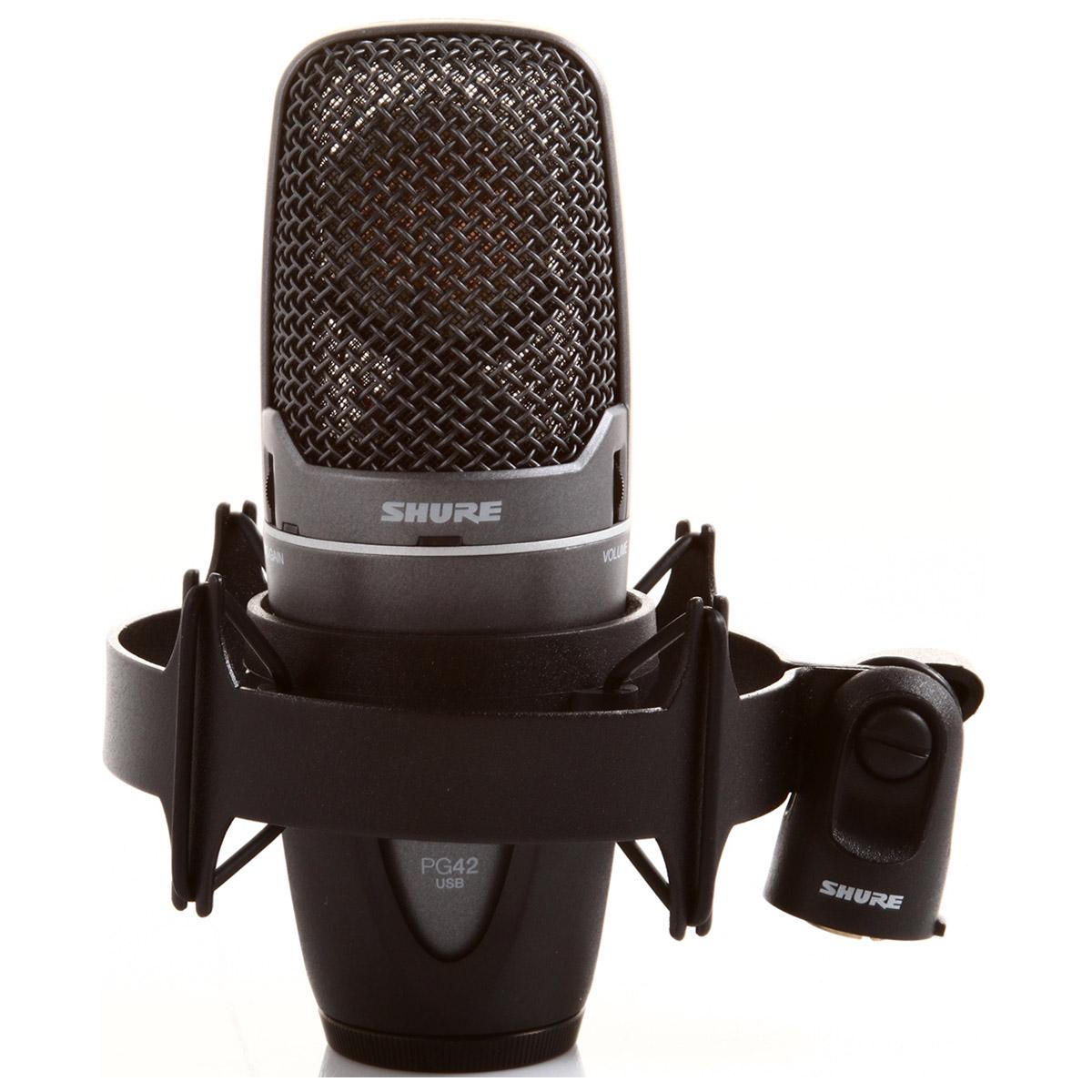 Microfone c/ Fio USB - PG 42 USB Shure