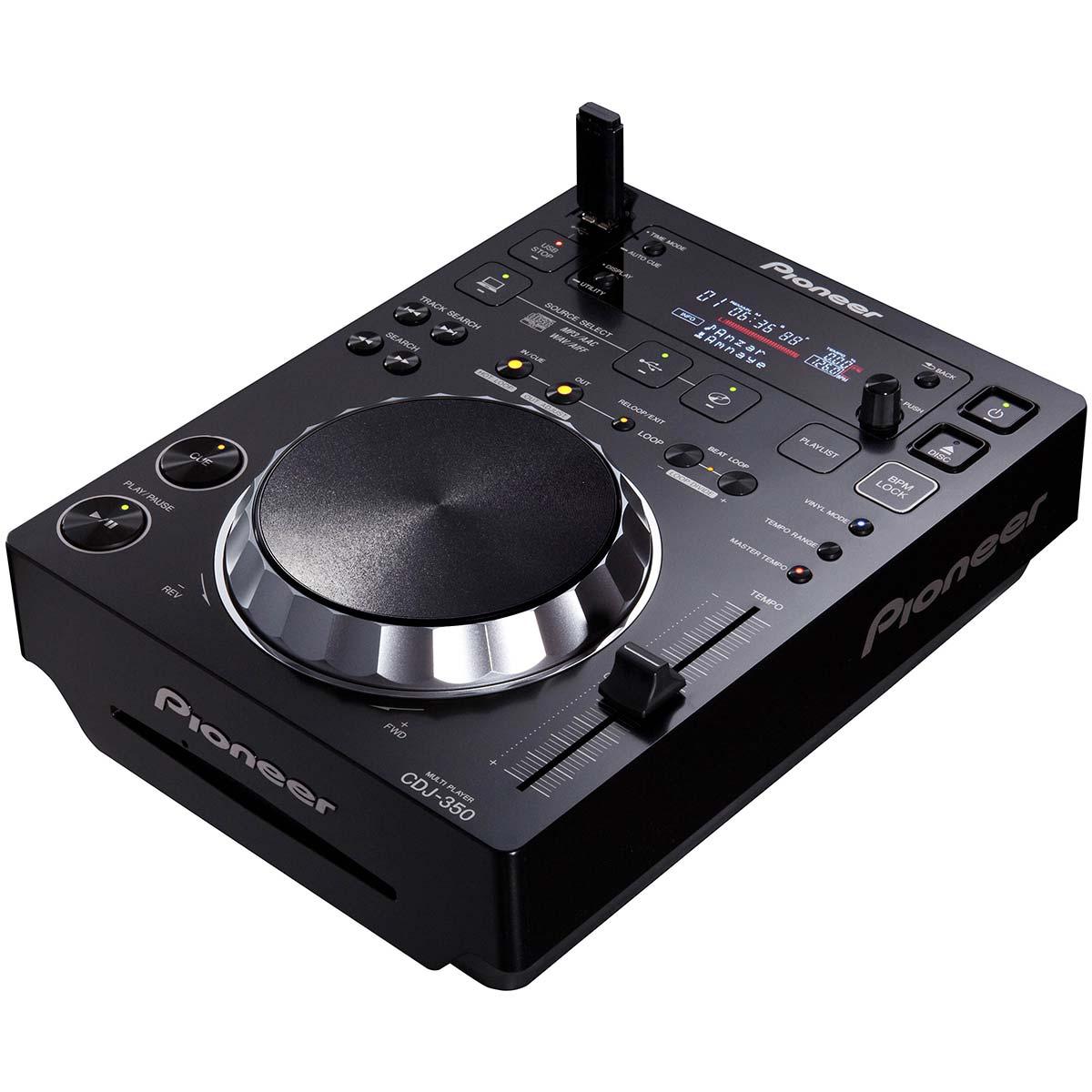 CDJ Player c/ USB Preto CDJ 350 - Pioneer