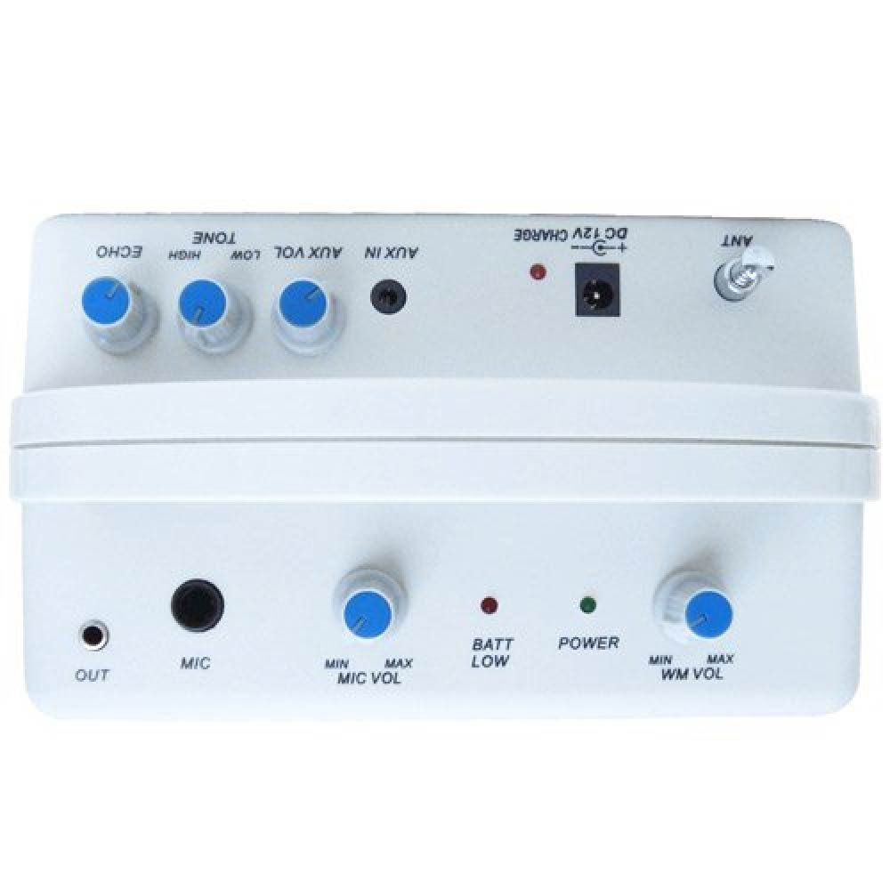 Kit Professor Portátil (Caixa Fal 6 Pol 10W + Microfone s/ Fio VHF) - T 120 B - CSR